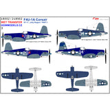 HGW 1/48 scale wet transfers for F4U-1A VF-17 Jolly Rogers Kits Part 1 - 248902
