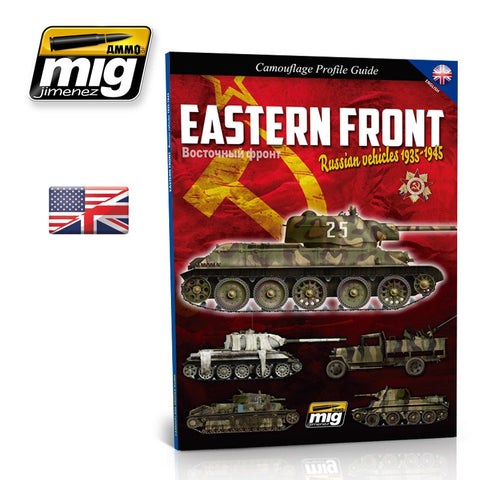 EASTERN FRONT RUSSIAN VEHICLES Guide AMMO of Mig Jimenez - #6007