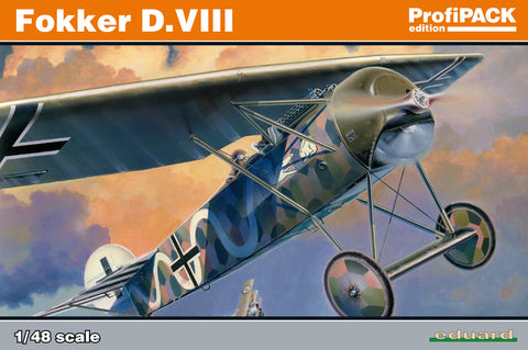 Eduard plastic model kit 1/48 scale - Fokker D. VIII - ProfiPACK edition - 8085