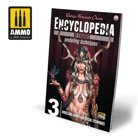 AMMO Mig Jimenez Vol 3 Encyclopedia of Figures Modelling, Genres and Special Techniques AMIG6223