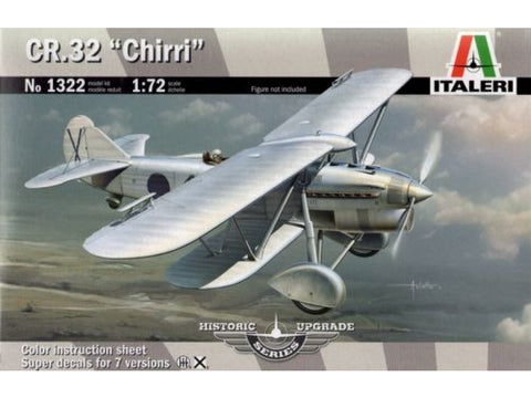 "Italeri 1/72 scale aircraft kit 1/72 CR.32 ""Chirri"" - 1322 NOS"
