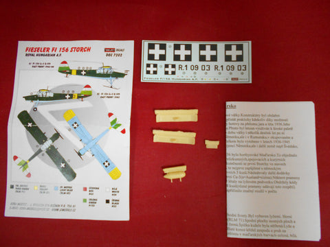 Kora Decal + Resin 1/72 Fi 156 Storch Royal Hungarian A.F - DEC7202
