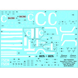 HGW 1/32 scale Stencils - Wet Transfers for Sopwith F.1 Camel BR.1 - 232020