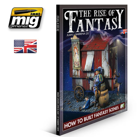 Accion Press Publications THE RISE OF FANTASY by Juan J. Barrena (JJ)