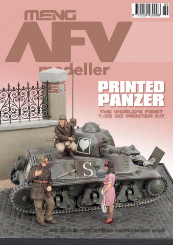 Meng AFV Modeller Magazine #89 - July/August 2016 Printed Panzer