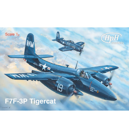 HPH Models 1/32 F7F Tigercat complete Multimedia Kit - HPH  32045R