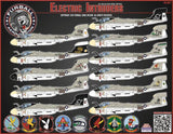 Furball Aero Design 1/48 Decals for the EA-6A Electric Intruders US Navy/USMC - 48027