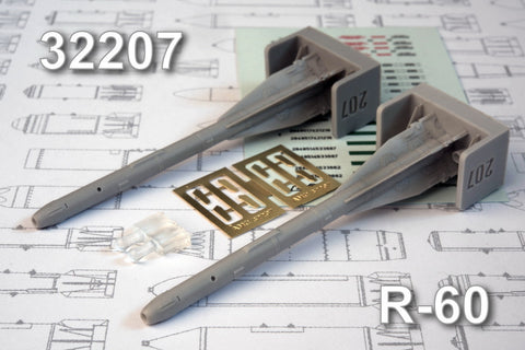 Advanced Modeling 1/32 resin R-60 short range ATAM - AMC32207