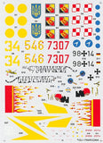 Hi-Decal Line 1/72 decal set SU-17M4R/SU-22M4 Fitter K #72-033