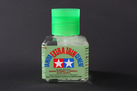 Tamiya Extra Thin Cement 40ml jar for plastic models hobby #87038