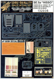 HGW 1/32 Super detail set for SE5a HISSO for Wingnut Wings #132036
