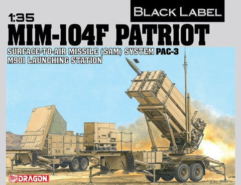 DRAGON BLACK LABEL MODEL 1/35 MIM-104F PATRIOT (SAM) PAC-3 M901 Launching Station  #3563