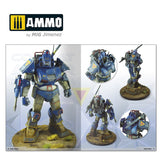 AMMO MiG Jimenez IN COMBAT 3 FUTURE WARS PAINTING MECHAS #6086
