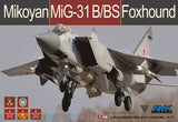 AMK Models 1/48 AvantGarde kit Mikoyan MiG-31 B/BS Foxhound #88008