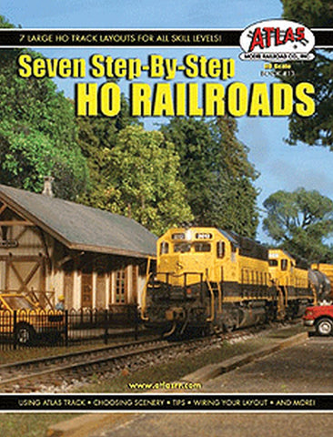 Atlas Model Railroad Co. - Seven Step-By-Step HO Railroads #HOB13