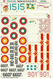 Millenium MiGs - 1/32 Linden Hill decal for MiG-21s single seaters 32004a