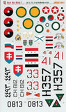Bush War Hinds Pt 2 1/35 Linden Hill decal Russian & int'l Mi-24/25/35s Trumpete