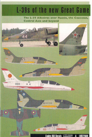 L-39s of the New Great Game Linden Hill 1/72 decal - LHD72009