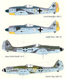 Lifelike 1/32 decal for FW-190 Part I for Hasegawa #32-001