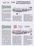 Lifelike 1/32 decal for P-47 Thunderbolt Pt 3 for Hasegawa - 32-008