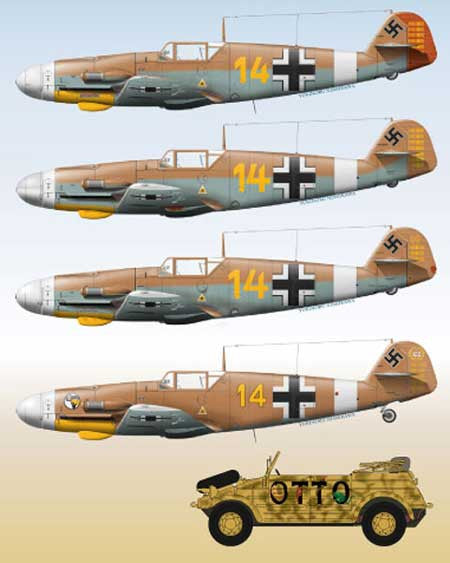 Lifelike Decal 1 72 Me 109 Pt 2 Marseille With His
