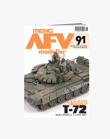 MENG AFV Modeller Issue 91 Nov/Dec 2016 - Tagged T-72