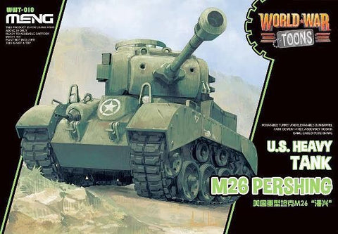 MENG World War Toons WWT-010 M26 Pershing US Heavy Tank Kit