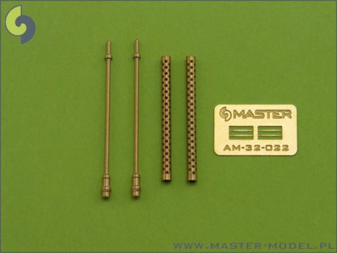 Master Model 1/32 HO-103 12,7MM Machine Gun Barrels - AM32022