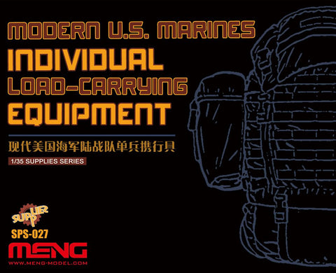 Meng 1/35 Scale Modern US Marines Individual Load Carrying Equipment SPS-027