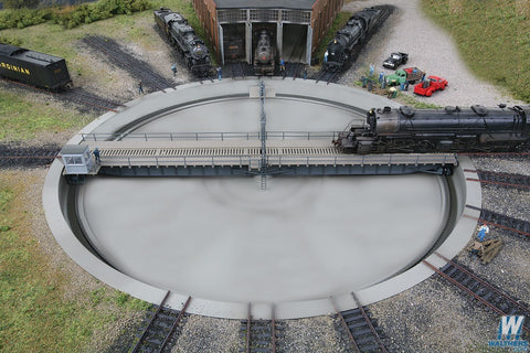 WALTHERS HO scale 130' FOOT TURNTABLE