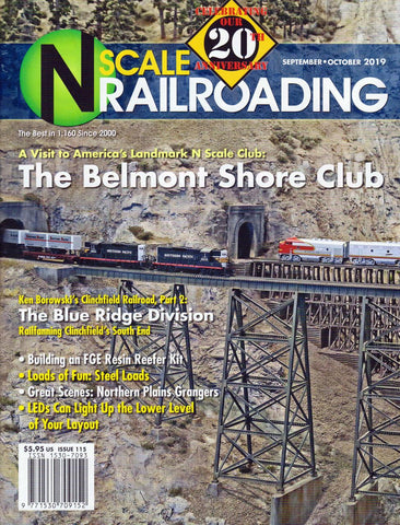 N Scale Railroading Magazine - Sept/Oct 2019 #115