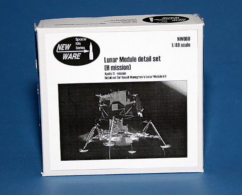 New Ware 1/48 Lunar Module detail set H mission Apollo 11-14  NW068