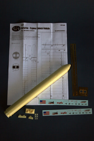 New Ware 1/144 Construction kit Antares rocket with Cygnus ISS