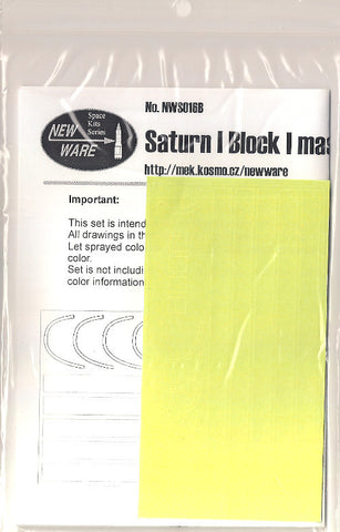 New Ware 1/144 NWS016B Saturn I Block I masks