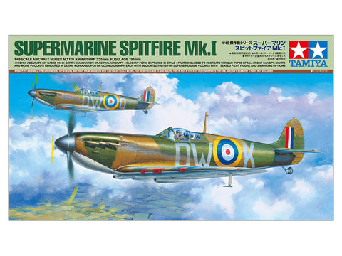TAMIYA 1/48 Supermarine Spitfire Mk.I - 61119 model kit