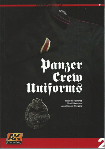 AK Interactive book Panzer Crew Uniforms - AK272