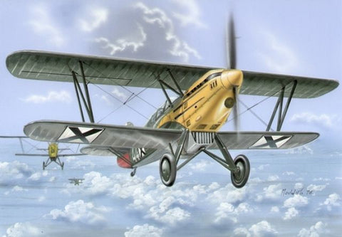 RS Models kit 1/72 Avia B.534 IV. version - 92070 - from collection