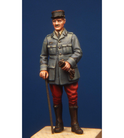 Model Cellar Productions 1/48 WWI French pilot officer figure MC48006
