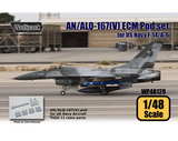 Wolfpack 1/48 AN/ALQ-167(V) ECM Pod set for US Navy WP48129