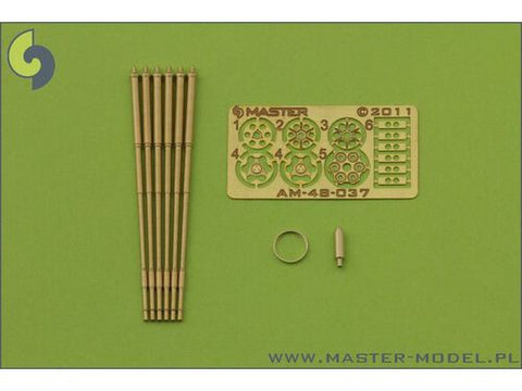Master Model 1/48 M61 A1 Vulcan 6 barrelled rotary 20mm cannon - AM48037