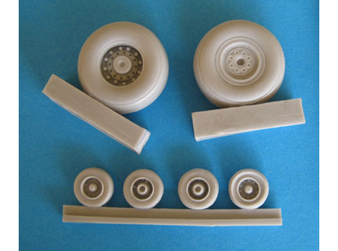 1/48 OzMods resin wheels for F-111A/D/E/F/EF-111A - SDA48003A