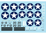 Wolfpack 1/32 decal F4F-4 Wildcat Part I Revell or Trumpeter WD32004