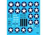 Wolfpack 1/48 decal F4F-4 Wildcat Pt 2 land based Tamiya Hobby Boss WD48002