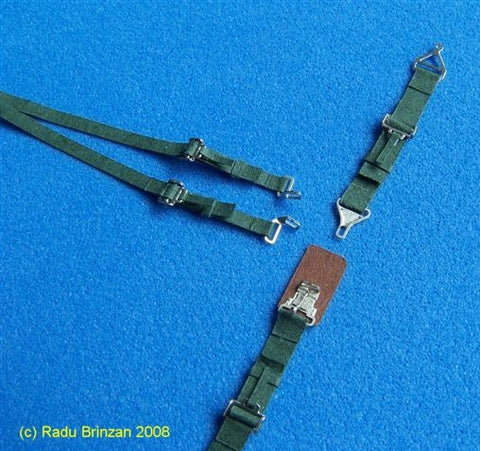 RB Productions 1/32 USAF/USN Seatbelts (Green) - RBP320081