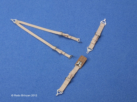 RB Productions 1/32 USAF/USN Seatbelts (beige) - RBP320083