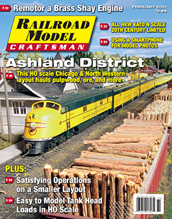 Railroad Model Craftsman Magazine Pulpwood and Iron Ore: The C&NW Ashland District