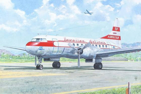 Roden Models 1:144 Convair CV-340 Hawaiian Airlines Model Kit #333