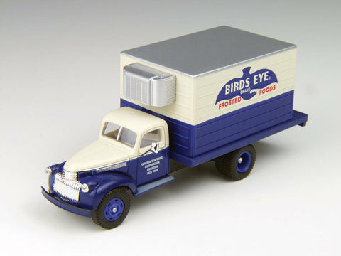 Classic Metal Works - Mini Metals HO scale '41/46 Chevrolet Delivery Truck (Bird's Eye Frozen Foods) #CMW30363