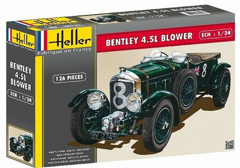 Heller 1/24 Bentley 4.5L Blower Model Kit #80722
