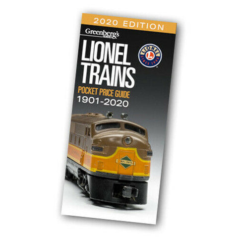 Greenberg's Guides - 2020 Lionel Trains Pocket Price Guide 1901-2020 #108720